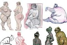 Anatomy Pose Sketch