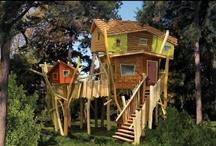 C ♥ Cabin / Ma cabane est en bois / by Marie-Josee B