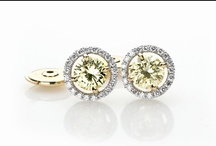 Jewels of the Rainbow / Natural colored diamonds are the stars of these jewelry pieces. Need more inspiration? Check out our natural colored diamond jewels! / by Langerman Diamonds