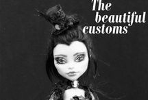 Monster High / Ever After High Obsession / Monster High Mattel dolls and repaints / by Shaina Kannady