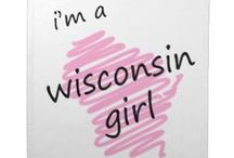 On Wisconsin! / Ah yes... the land of beer; milk; cheese; brats; the Packers and other awesome teams; and a whole lot more!!      I may have been raised in Minny, but in my heart I will always be a Wisconsinite!! / by Angie Gaffke