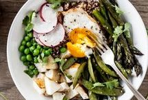 Healthy Meals + Nutrition / Healthy dinner recipes, easy make-ahead meals and lots of other deliciousness! / by Hello Glow