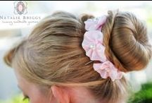 Bridesmaid and flower girl accessories / how to colour coordinate your favourite girls!