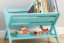 Book Storage / Ideas for creating the perfect book storage areas.