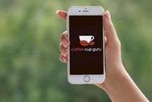 Coffee.Cup.Guru Mobile App / We would like to present you our vision. We are coffee lovers that like not just espresso but also filtered coffee and other coffee variations. We decided to help us and community in making best coffee. No more compromise … just perfect cup of coffee. So we started to prepare mobile/watch application that will guide us through coffee making process. To show individual steps, animate them for better explanation, time them. All necessary components for best coffee.