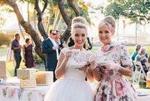 50's Inspired Wedding
