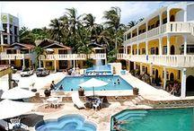 Hoteles de Puerto Escondido / Hoteles de Puerto Escondido, Oaxaca, México.