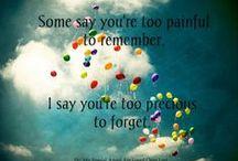 Love u Mom❤️ / I walk down memory lane because I love running into you.