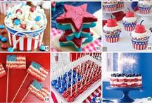 4th of July Ideas / Independence Day. Inspiration. 4th of July. Patriotic. Red. White. Blue. Stars and Stripes. USA. Freedom. America. Ideas.