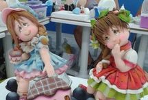 biscuits / polymer clay/ porcelana fria