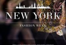 NYC Fashion Week Favorites / by Alexsa Woodward