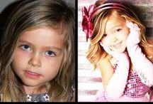 Before & After Kids / Samples of Glamour Shots before and after kids photography!