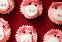 Cup Cakes-Animals