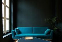 living in contrast / inspired by strong colours, bold combinations, rich textures, maximalism and a lust for too much.