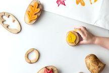 Basteln mit Kindern | DIY / Schöne Ideen für das Basteln mit Kindern. DIY Inspirationen für kleine Kinder. Bastelideen für schlechtes Wetter.