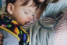 Tragen ist Liebe | Babys & Kleinkinder tragen / Babys und Kleinkinder tragen in Tragetuch und Babytrage.