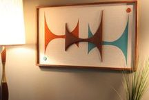 Decorating / Decorating ideas, home decor, decor inspiration, home design, interior design, MCM, Mid Century Modern
