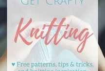 Get Crafty   Knitting / Here you will find mostly FREE knitting patterns from around the web, and a sprinkling of knitting tips & products for knitting lovers!