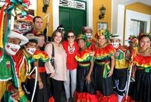 Visita ministerial a Barranquilla. / MinCultura estuvo recorriendo Barranquilla y compartió con la comunidad grandes historias.