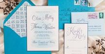 Winter Wedding Invitations and Inspiration / Bespoke wedding invitations and custom designed wedding day stationery