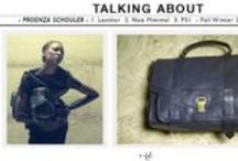 Talking About / Tiziana Fausti's focus on a key item of a renowned brand.