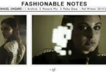 Fashionable notes / Tiziana Fausti's fashionable notes for women.