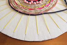 DIY-Fabric & strings