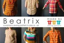 my patterns (women) / Modern and fun designs for women. Shop all of my patterns at shop.made-by-rae.com / by Rae Hoekstra