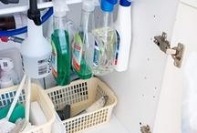 being organized & clean.
