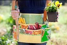 Apron Strings / I love aprons - the prettier, the better.  This is a collection of colors, patterns, and styles that inspire me to make some of my own.