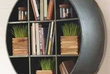 organization and storage / by Catrin Morris