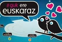 Guk guztiok #KeinukaEuskarari / Euskararen alde egin eta egiten diren egitasmoak; euskararen aldeko erakundeak, taldeak, komunikabideak...