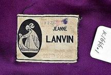 Vintage fashion labels