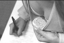 Chuletas / ¿Eres de los que hace chuletas en los exámenes? Envíanoslas a info@adaspirant.com y compártelas con nosotros.