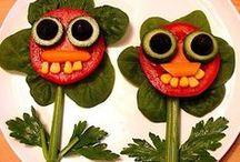 Creatividad con la comida