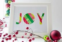 Holiday Crafts / Simple ideas to personalize your holiday - whether it be Christmas, Hanukkah, or Kwanzaa!