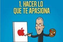 Mandamientos para emprendedores / Los 10 mandamientos de Steve Jobs para emprendedores.