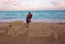 Creatividad para casarse / ¿Cómo le has pedido la mano a tu pareja? ¡Envíanos la foto a info@adaspirant.com y la compartiremos!