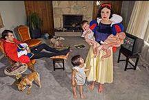 Princesas Disney / La fotógrafa Diana Goldstein ha plasmado en un trabajo fotográfico qué habría sucedido a las Princesas Disney después de que acabasen sus películas.   La Sirenita, Mulan, Blancanieves, Bella, Cenicienta y más heroínas aparecen retratadas en esta colección. ¡No te la pierdas!