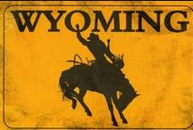 Amazing Photo's of Wyoming,USA / Beautiful State of Wyoming, USA, There are some picture here about the history of this great state. / by Crabbies Boards