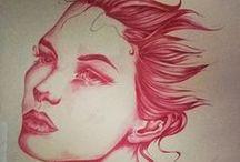 Scarabic / I miei  disegni con la bic