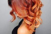 Autumn/Fall Hair Inspiration Women's Hair / Looking for a new look this Autumn? We've compiled a selection of inspiring styles, from; messy updo's, textured long bobs and short pixie cuts to keep you on trend this fall!