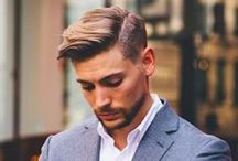 Autumn/Fall 2016 Hair Inspiration Men's Hair / We've compiled the latest men's hairstyles on trend for Autumn/Winter 2016. From cool undercuts, high fades, and messy textured hair on top.