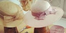 FASHION: Hats & The Work of a Milliner / Gorgeous custom made hats! #hats #hat #milliner #felthat #strawhat #derbyhat