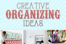 home ORGANIZE IT / home organization, office, bedroom, kitchen, bathroom, garage, living room / by Tellylin