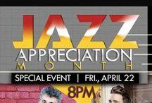 #DJAM2017 : Dallas Jazz Appreciation Month / Appreciation a great American art form that has affected the globe.