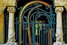 Forged / Gates piers railings, door handles, door knockers, lamps, window grille etc etc / Visual Addict adlı kullanıcıdan