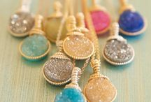 Necklaces, Rings, Earrings / by Melissa May