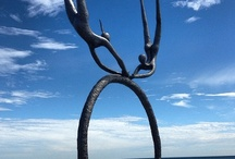 Sculpture by the Sea / Sculpture by the Sea, Cottesloe Beach, Perth, Western Australia. Each year Central's students, graduates and staff are among the contributing artists.