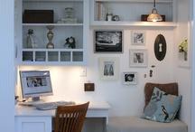 Mini office & makeup vanity / by Lesa Rock